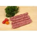 Assortiment colis de base (60%) avec du Bourguignon (20%), Merguez (10%) et Saucisses (10%)